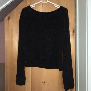 Size L Aeropostale velvet sweater